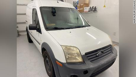 Photos of Petito's van, released by North Port police.