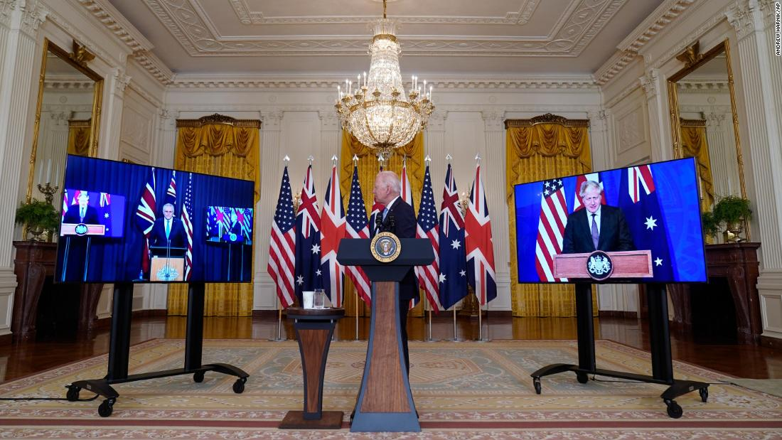 US defends partnership with UK and Australia amid allies' outcry
