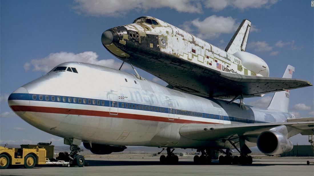 Rare photos show the early years of NASA's space shuttle era