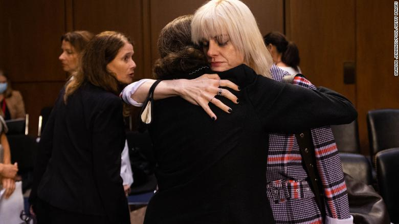 Former US gymnast calls for 'follow-through' after Larry Nassar hearing