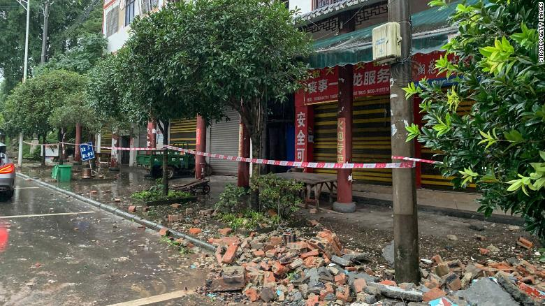 Earthquake leaves three dead and 60 injured in China's Sichuan
