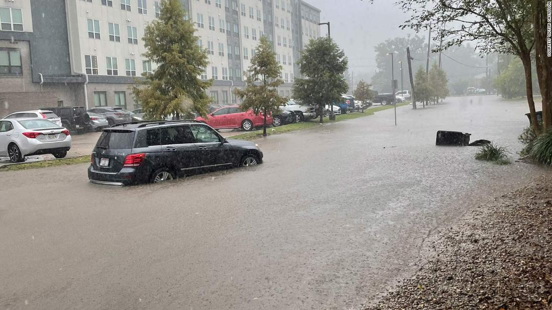 Nearly 5 million people are under flash flood watches as Nicholas hovers over the Gulf region