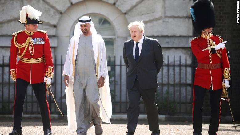 UAE invests $14 billion in Britain as it tries to look beyond oil