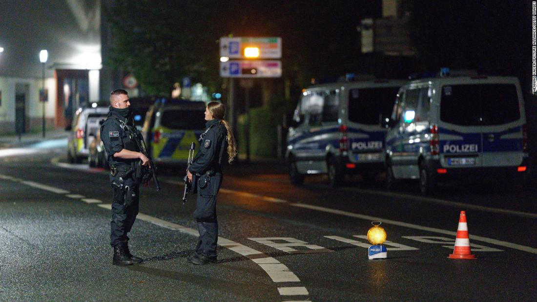 Germany averted possible attack on synagogue, minister says