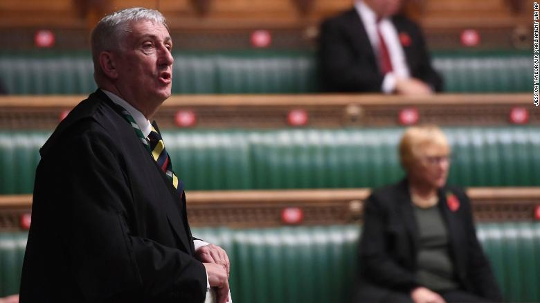 UK Speaker: We can't let mob rule smash democracy