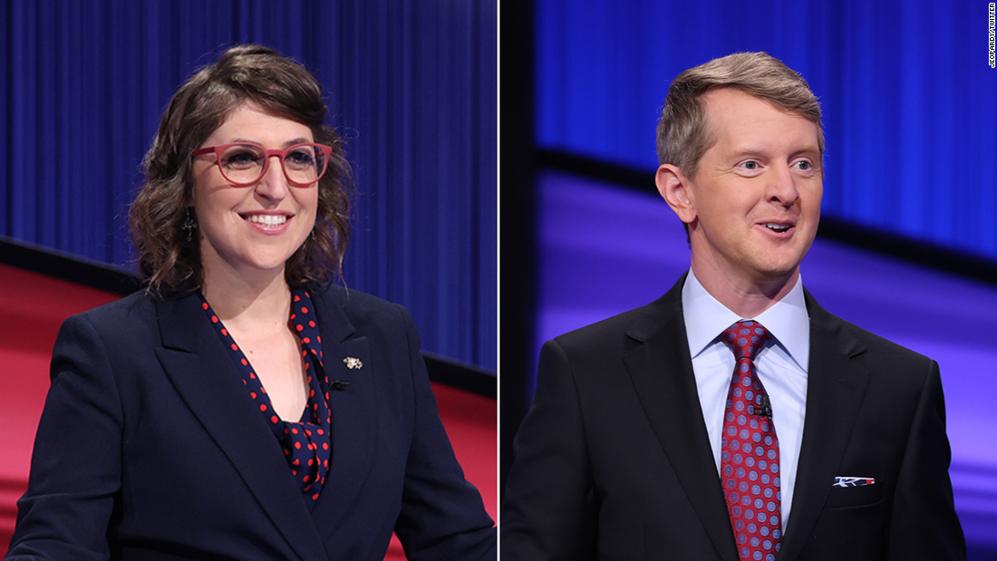 Ken Jennings and Mayim Bialik will host 'Jeopardy!' for the rest of the year