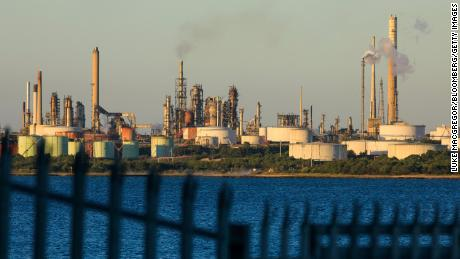 The Esso Fawley Oil Refinery, operated by ExxonMobil, in the UK.