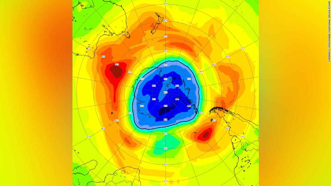 Ozone hole now bigger than Antarctica after growing 'considerably' in past week