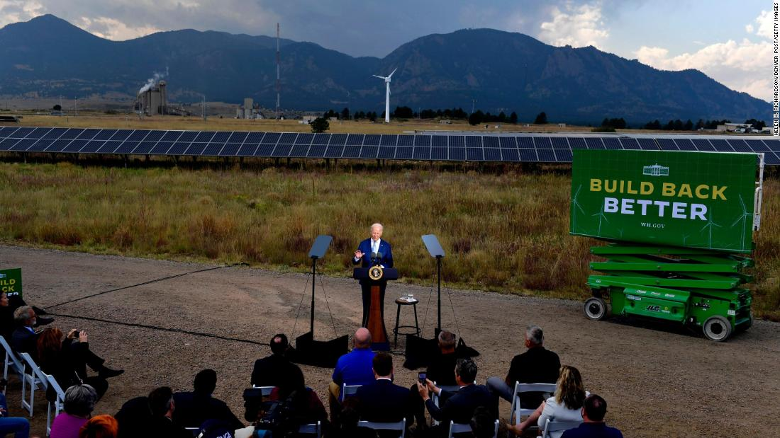 White House economists say a clean energy transition will lower consumer costs
