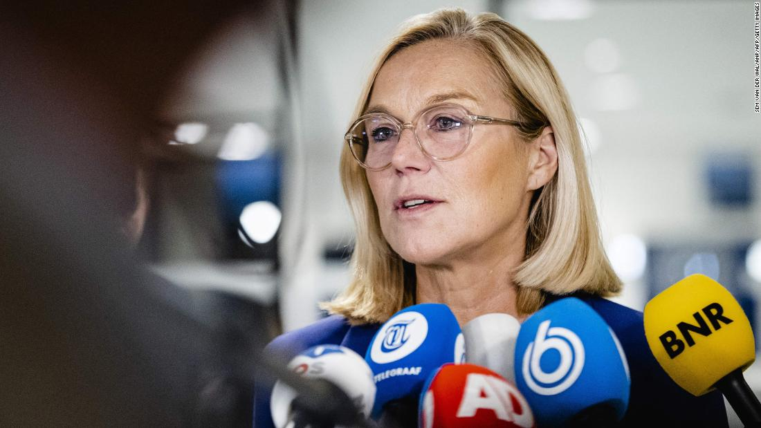 Dutch Foreign Minister Sigrid Kaag resigns over Afghanistan crisis