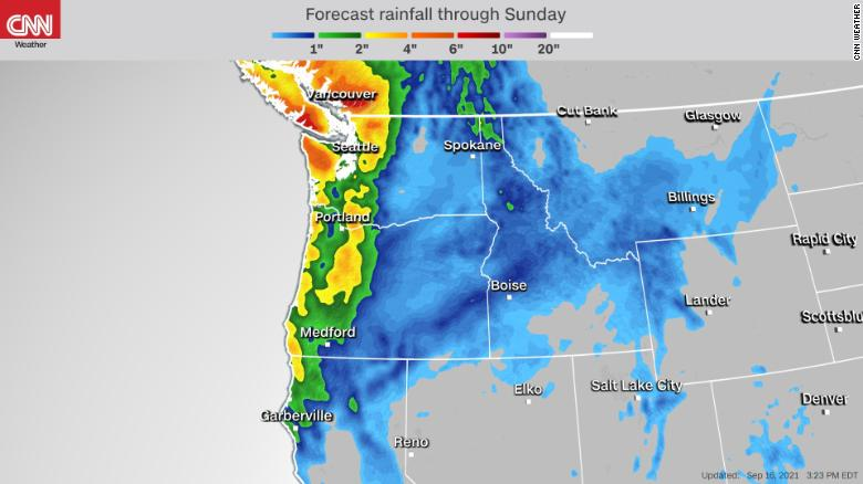 Pacific Northwest delighted to get rain? Probably so
