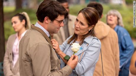 James Wolk and Anne Ramsay in the NBC drama 'Ordinary Joe' (Fernando Decillis/NBC)