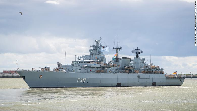 China denies German warship entry into harbor, Berlin says