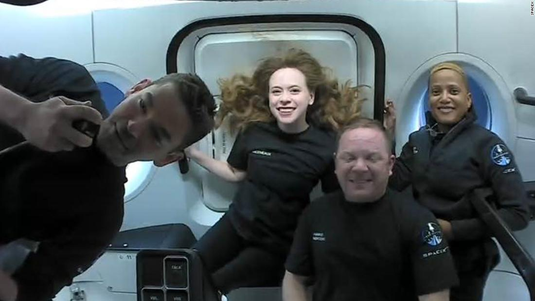 SpaceX capsule to return from orbit, capping off first tourism mission