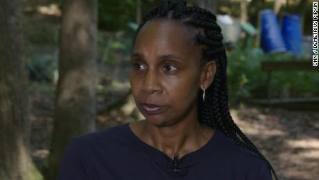 Na'Taki Osborn Jelks, Assistant Professor of Environmental and Health Sciences at Spelman College discusses Spelman's role in NOAA's Urban Heat Island campaign on September 4, 2021.
