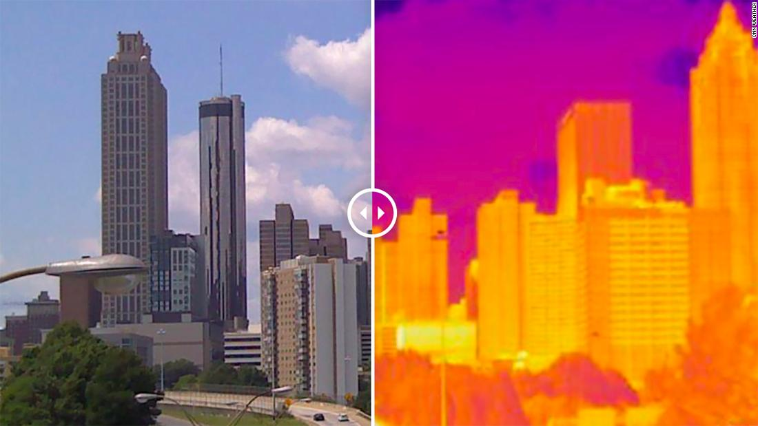 'Hotlanta' is even more sweltering in these neighborhoods due to a racist 20th century policy