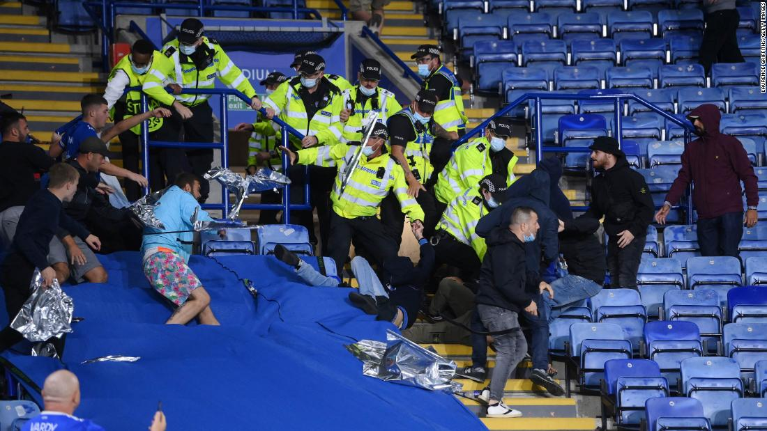 Multiple arrests made as soccer fans clash