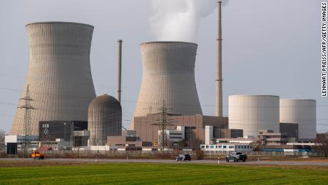 A nuclear power plant in Gundremmingen, Germany on February 26, 2021. Germany is reducing its use of nuclear power, while New Zealand still bans it entirely.