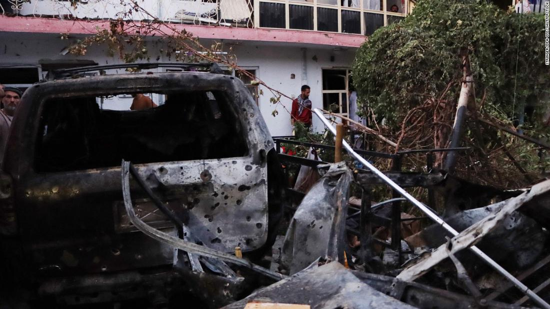 US military admits killing 10 civilians and targeting wrong vehicle in Kabul drone strike
