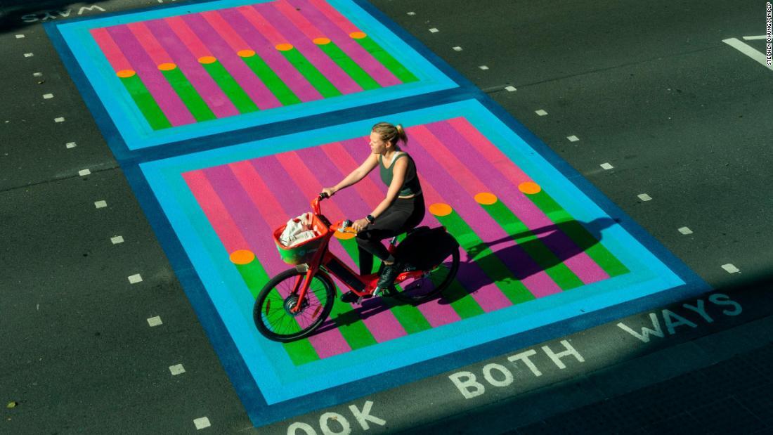 Designer Yinka Ilori gives London streets a technicolor makeover