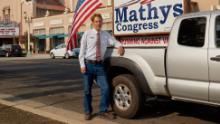 Chris Mathys is a Republican running against Rep. David Valadao because of his vote to impeach President Trump.