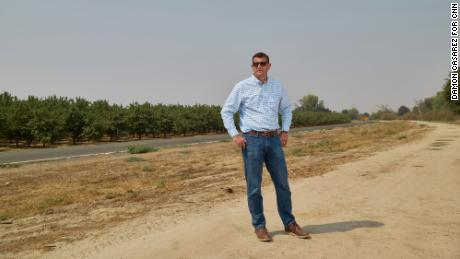 Republican Rep. David Valadao represents California's 21st Congressional District, a sweep of farmland from Bakersfield to Fresno.