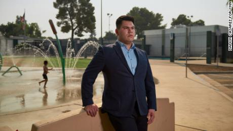 Angel Lara is a Bakersfield native running as a Democrat for California's 21st District.