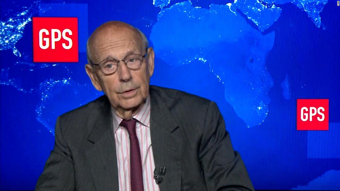 Breyer defends state of Supreme Court in interview with CNN's Fareed Zakaria