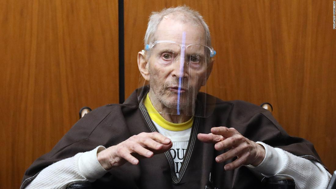 Robert Durst, eccentric figure made infamous in 'The Jinx,' set to be sentenced for first-degree murder