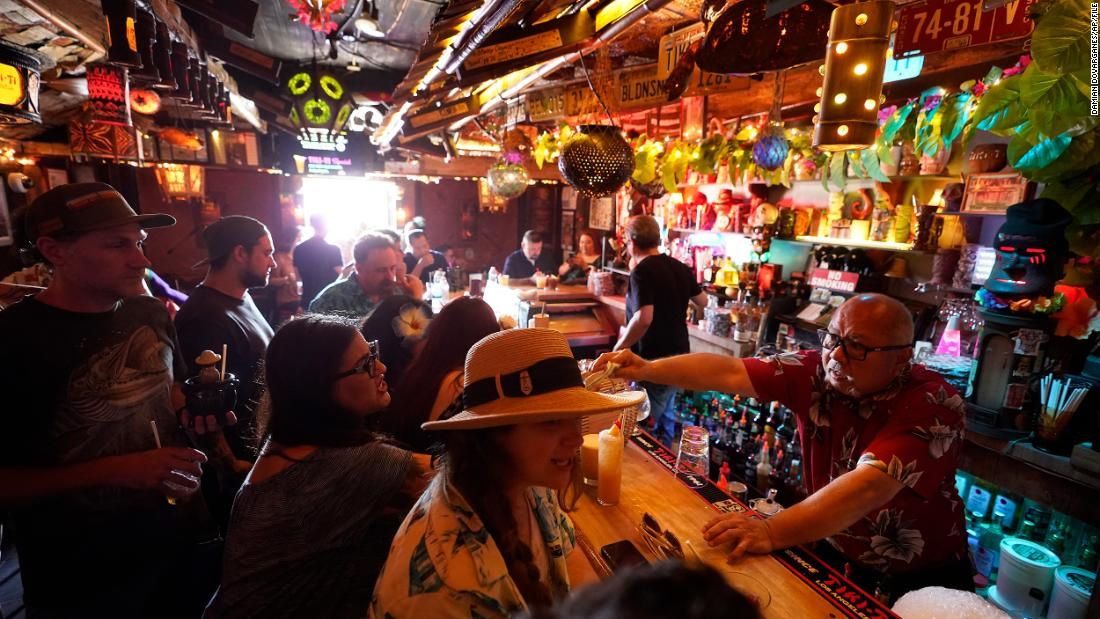 The most populous county in the US issued a proof of vaccine requirement for indoor bars and nightclubs