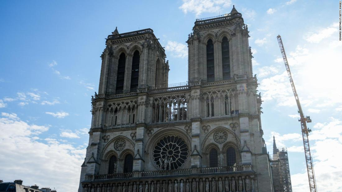 Notre Dame cathedral in Paris will reopen in 2024, five years after disastrous fire