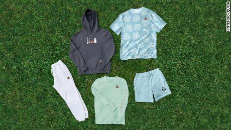 Puma launches an Animal Crossing clothing collection