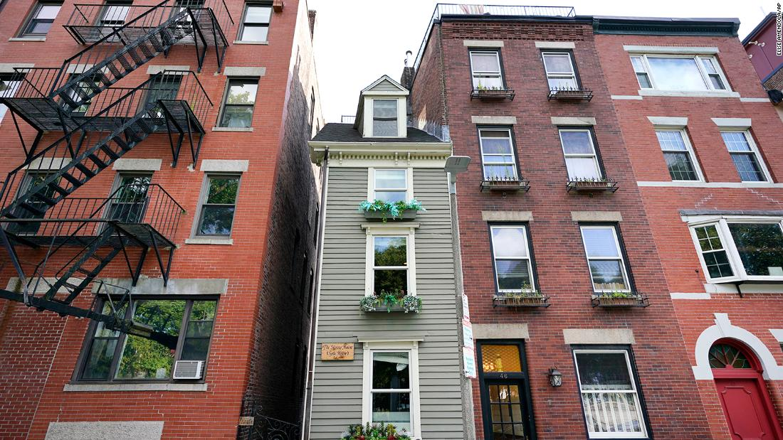 Boston's 'Skinny House,' known as the narrowest home in the city, sold for more than $1.2 million