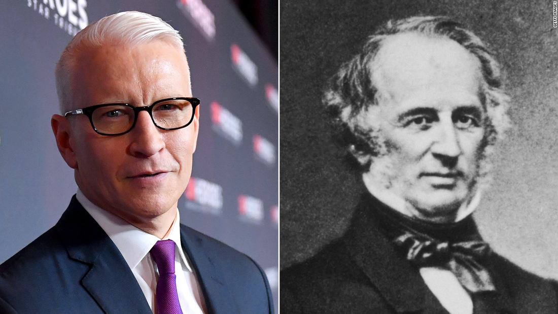 Why Anderson Cooper is finally embracing his roots