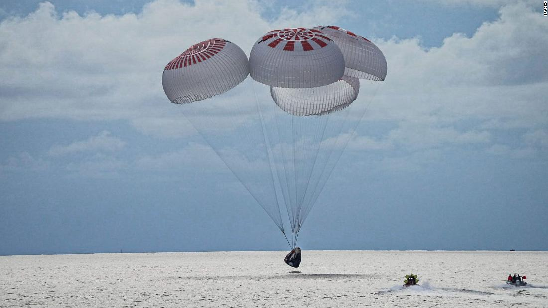 SpaceX just brought the first all-tourist crew back from space. Here's what's next