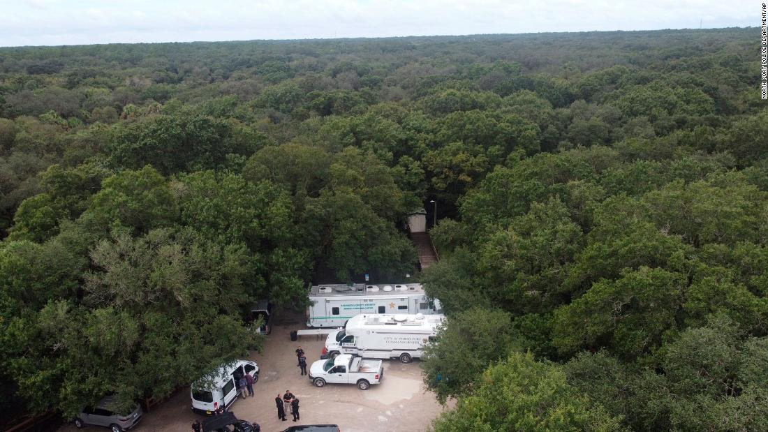 A body has been found in a national forest in Wyoming. Authorities were searching the area for Gabby Petito