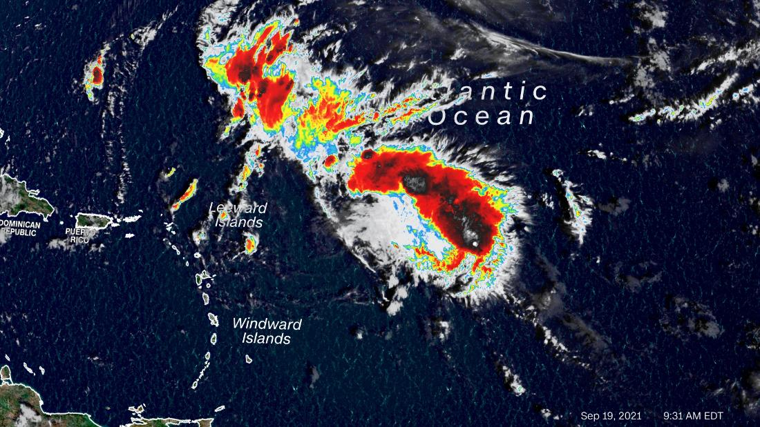 Tropical Storm Peter forms as the 16th Atlantic storm of 2021
