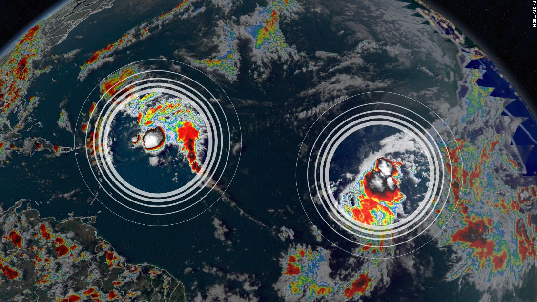 Tropical Storm Rose forms as the 17th Atlantic storm of 2021, continuing the busy tropical season