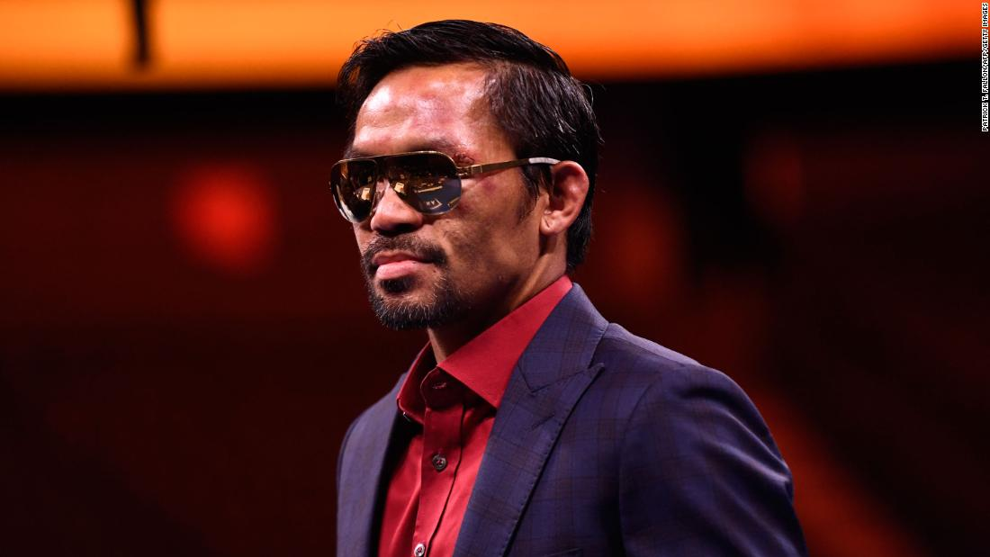 Manny Pacquiao says he will run for Philippine presidency in 2022