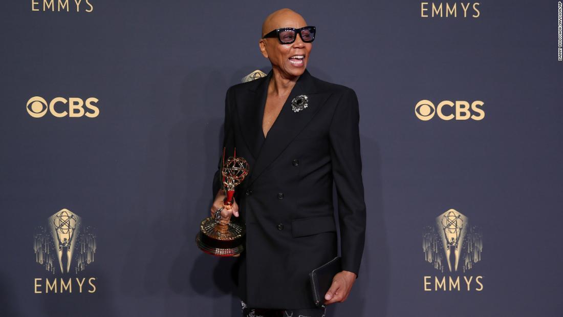 RuPaul makes Emmy history - CNN