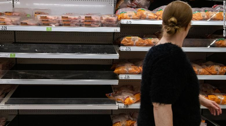UK food supplies at risk as American CO2 provider shuts down due to soaring gas prices