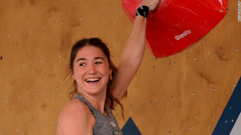 Climber Johanna Farber receives apology after inappropriate images were aired during World Championships