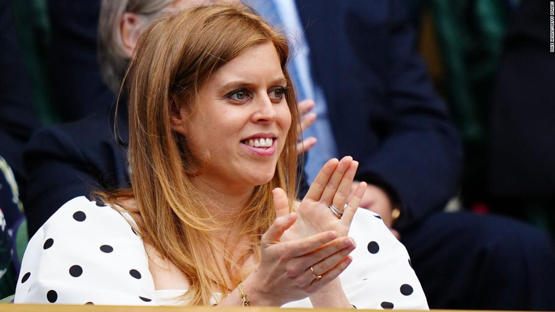 Princess Beatrice, granddaughter of Queen Elizabeth II, gives birth to her first child