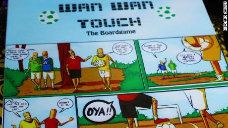 """""""Wan wan touch"""" is a football-based board game. It was created in 2018."""