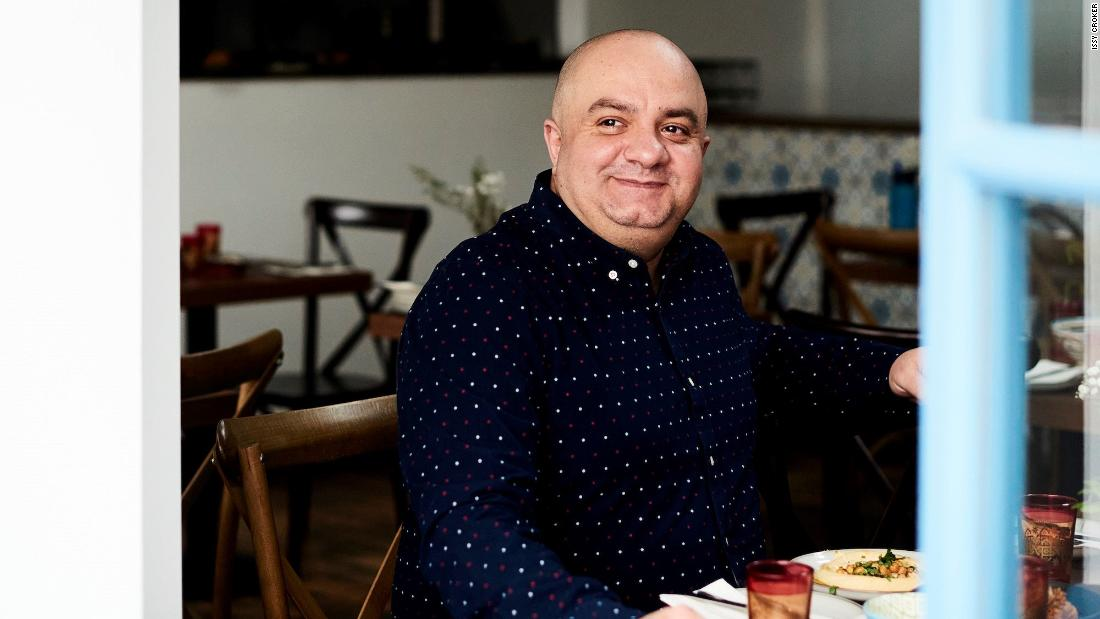 He left Syria as a refugee six years ago. Now he owns a popular restaurant