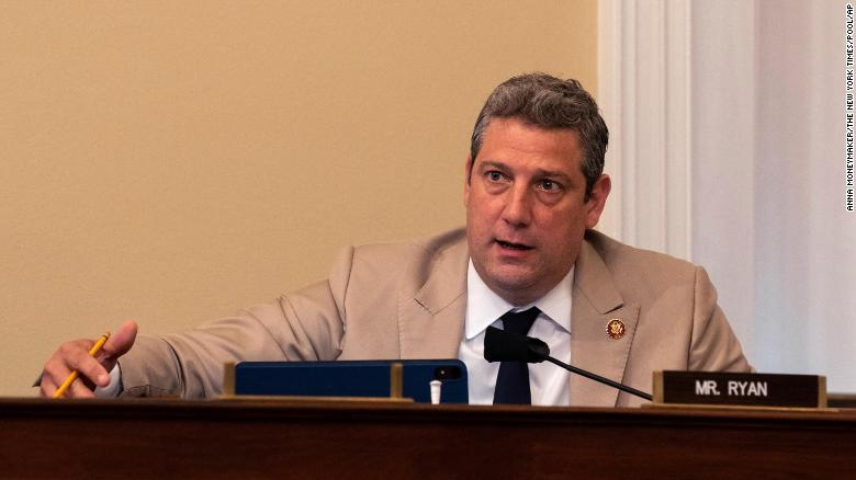 Rep. Tim Ryan says he has tested positive for Covid-19