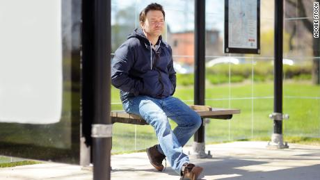 Turn disadvantage into advantage. Waiting on a bus? That's the perfect time to just sit and disengage for a bit.