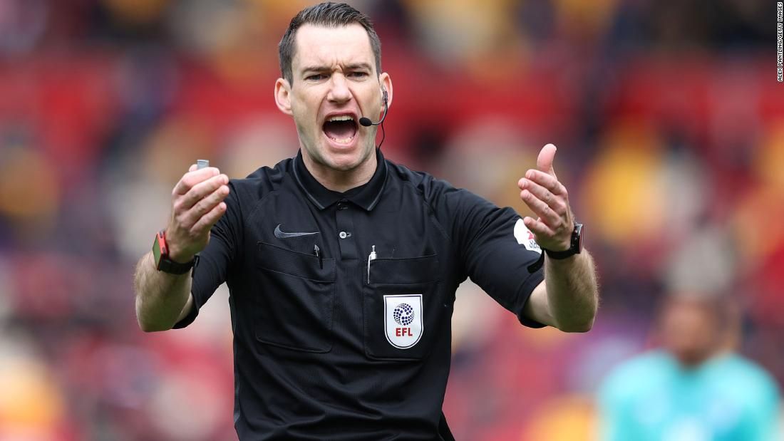 Australian Jarred Gillett to become first overseas Premier League referee