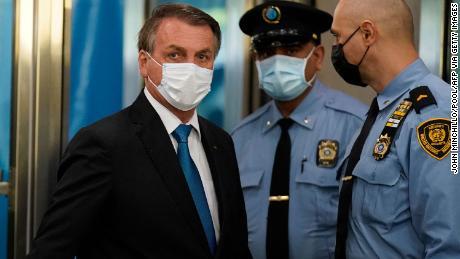 & # 39;  isolé & # 39;  Mais provocant, Bolsonaro au Brésil défend la gestion du COVID et du climat à l'ONU