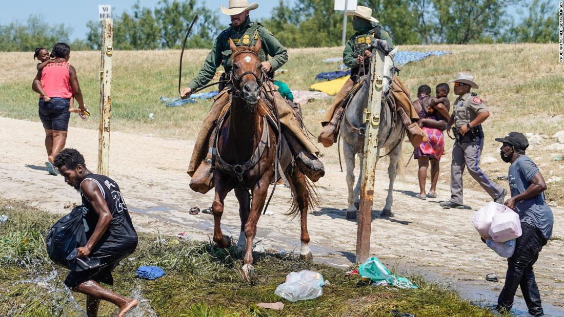 Democrats blast Biden administration on handling of Haitian immigrants at the border - CNN